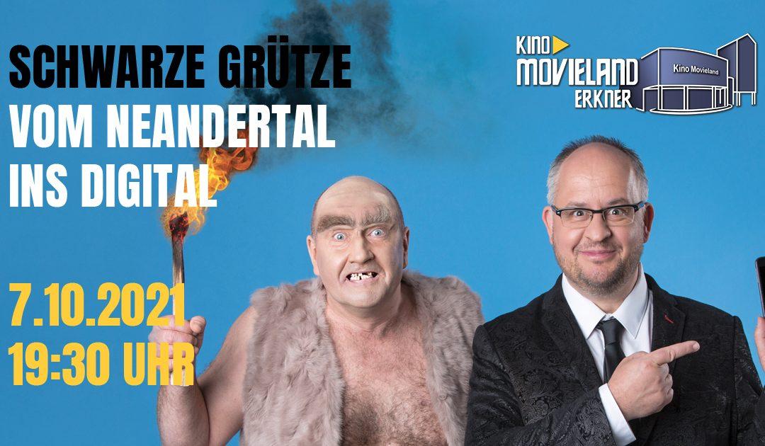 Kabarett live: Schwarze Grütze am 7.10. um 19:30 Uhr