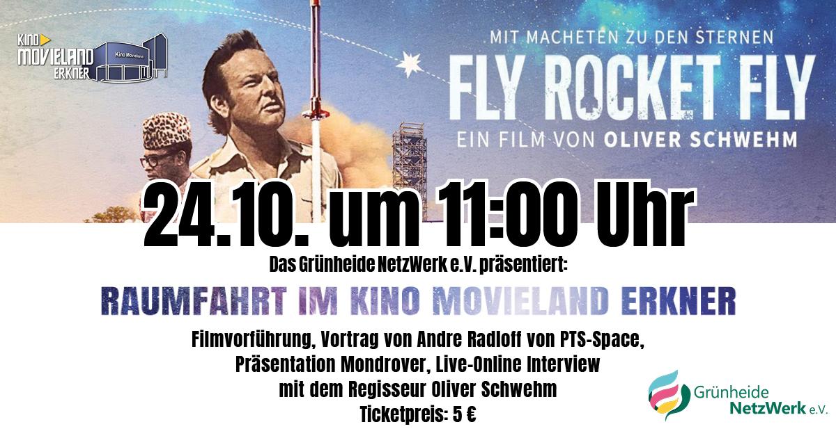 Fly Rocket Fly: 24.10. um 11:00 Uhr